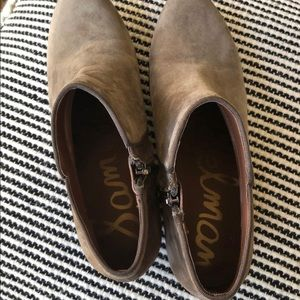 Sam Edelman Shoes - Sam Edelman Petty Booties (Taupe) - 9